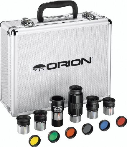 Orion 08890 1.25-Inch Premium Telescope Accessory Kit (silver)