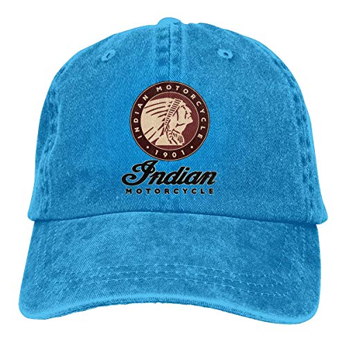 Indian Motorcycle Baseball Cap Vintage Dad Hat Adjustable Polo Trucker Unisex Style Headwear