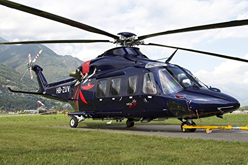 Luca Nicolotti/Stocktrek Images – An AgustaWestland AW139 Utility Helicopter. Photo Print (86,87 x 57,91 cm)