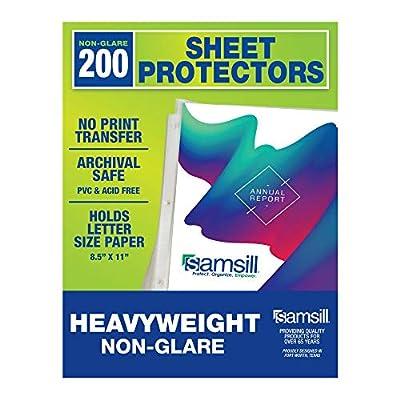 sheet protectors 8.5 x 11 heavy duty