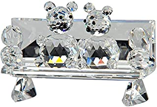 Crystal Asfour 637 Crystal Couch Couple Decor - Transparent