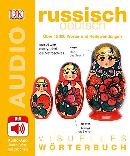 Visuelles Wörterbuch Russisch Deutsch: Mit Audio-App - Jedes Wort gesprochen
