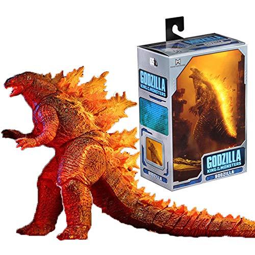 QWRT Figure di Anime Burning Godzilla Model Bandai PVC Monsters Gojira Pop Giochi Regalo per Bambini Action Figure Giocattoli Collezione Ornamenti 16Cm