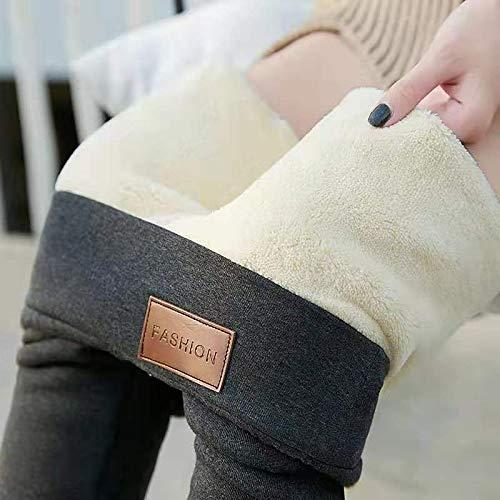 Leggings más Cachemir Pantalones De Invierno Leggings Térmicos Streetwear Pantalones De Cintura Alta para Mujer Pantalones Mujer Pantalones Casuales De Invierno XXXL Fash