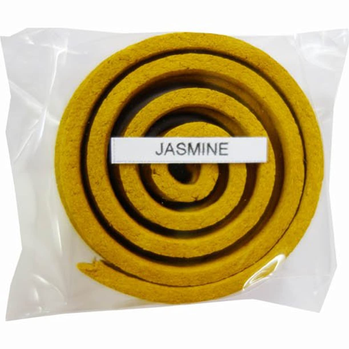 致命的樹皮有料お香/うずまき香 JASMINE ジャスミン 直径5cm×5巻セット [並行輸入品]