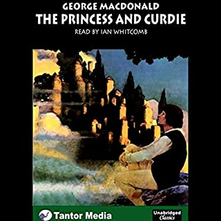 The Princess and Curdie audiobook cover art