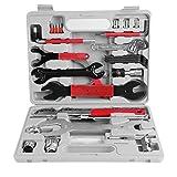 Mulple Fahrrad Werkzeug Set, Fahrrad Werkzeugkoffer 44tlg, Fahrrad Werkzeugsatz mit Tragekoffer für Fahrrad Montagearbeiten und Reparaturen