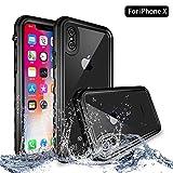 NewTsie iPhone X/iPhone XS Wasserdicht Stoßfest Hülle, IP68 Zertifiziert Schutzhülle Staubdicht...