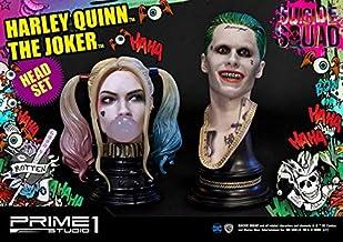 Prime 1 Studio Suicide Squad Harley Quinn & Joker Head Set