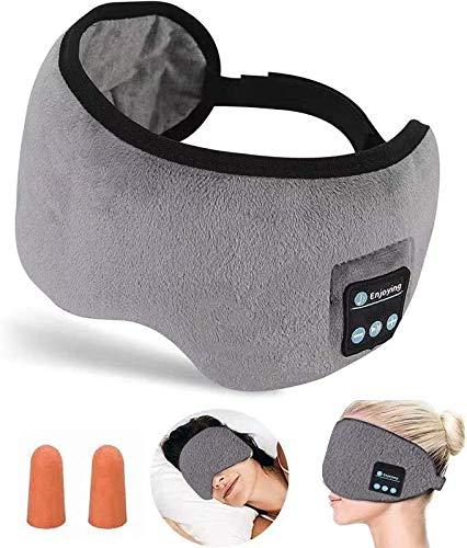 Bluetooth Sleep Mask,CCopnts Sleep Headphones Bluetooth Eye Mask for...