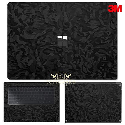 "SopiGuard Skin for Microsoft Surface Laptop 3 (15"") Precision Cut Full Body Sticker Vinyl Wrap (Leather Textured)"