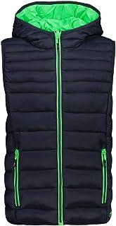 CMP Boys' Gilet Imbottito Con Cappuccio Vest
