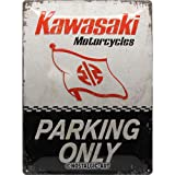 Nostalgic-Art Kawasaki – Parking Only – Geschenk-Idee