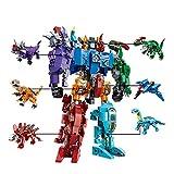 Ingenious Juguetes 6in1 Transformers Robots 6 Mezcladas Conjuntos de vehículos/Bloques de Construcción Construcción Set #1404
