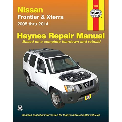 nissan frontier shop manual