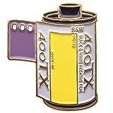 Official Exclusive Kodak Tri-X 400 - Pin de solapa para fotografía (35 mm)