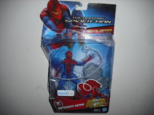 Marvel The Amazing Spiderman Movie Series 6 inch Whipping Web Line Walmart Exclusive