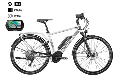 Atala Bici elettrica B-Tour XLS Man 28'' 10-V Taglia 49 Cruise 500Wh Nyon 2018 (City Bike Elettriche)