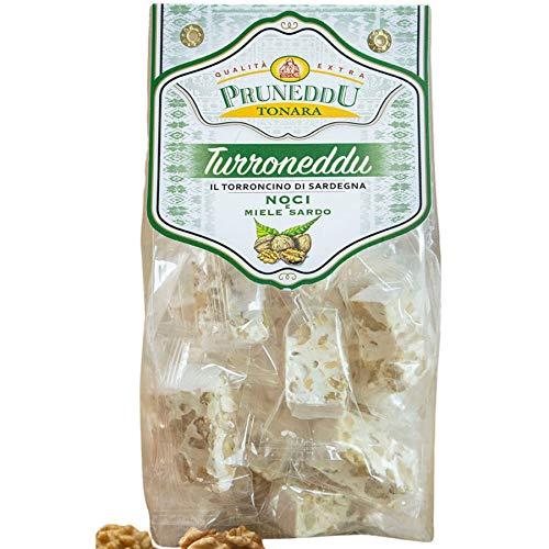 Torroncini mit Walnüssen und Honig aus Sardinien, 200g, weißer Nougat, Torrone, Pruneddu Torronificio Artigianale