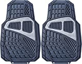 Black Rubber Floor Mat TWO Pieces (First Line)
