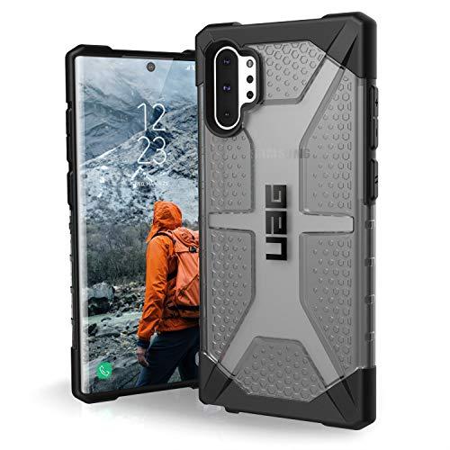 Urban Armor Gear Plasma Funda para Samsung Galaxy Note 10 Plus Carcasa con estándar Militar Estadounidense (Compatible con la versión 5G, Compatible con inducción) - gris