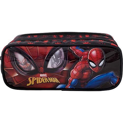 Estojo Duplo Spider Man R2-9475- Artigo Escolar