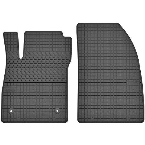 AGCPdirect Gummi Matten Fußmatten Passgenau Vorne Set für Opel Mokka 2012-2016 und Opel Mokka X 2016-2020 und Chevrolet Trax 2013-2021