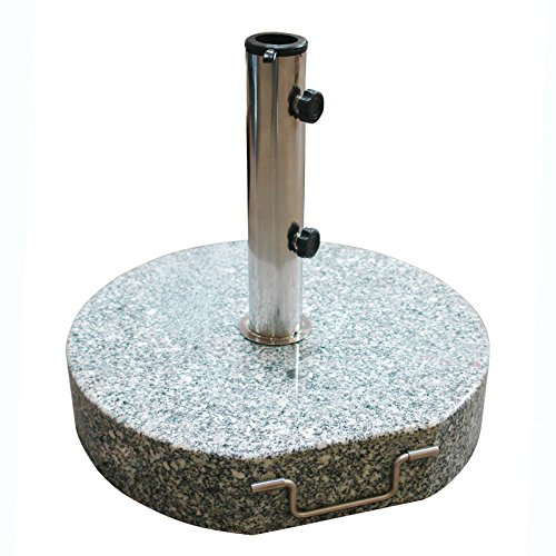 DEMA Sonnenschirmständer rund Ø 45 Granit grau 40 kg