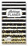 Trendstuff Lieblingsplaner - Notizbuch A6 liniert [Black & White] 1 Woche auf 2 Seiten | Mini Notizkalender, Wochenplaner, Taschenkalender ohne festes Datum
