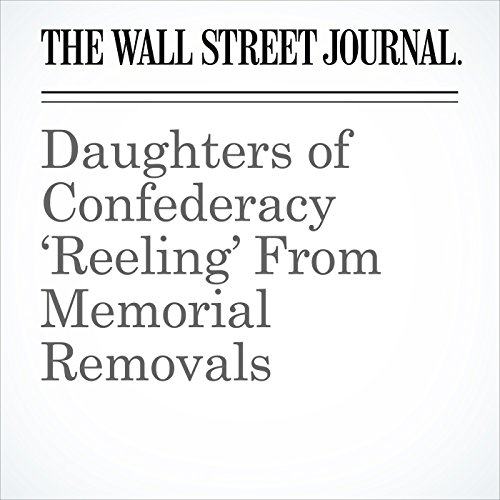 Daughters of Confederacy 'Reeling' From Memorial Removals copertina