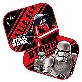 Disney 9316 Stormtrooper Star Wars - Cortinas de protección solar, color rojo y negro