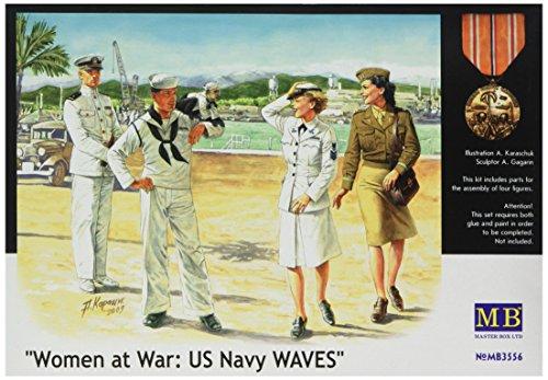 Masterbox 1:35 - 'Women at War' US Navy WAVES - MAS3556