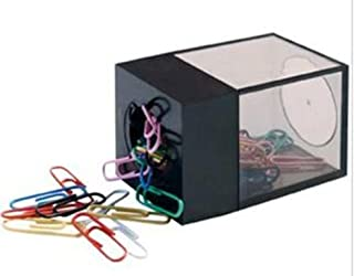 Staples Large Magnetic Paper Clip Dispenser with 100 Clips