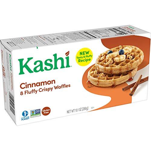Kashi, Frozen Waffles, Cinnamon, Gluten Free and Vegan, 10.1oz Box