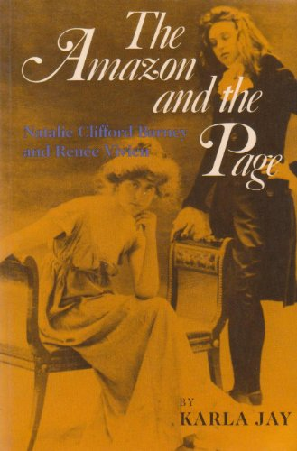 The Amazon and the Page: Natalie Clifford Barney and Renee Vivien (A Midland Book)