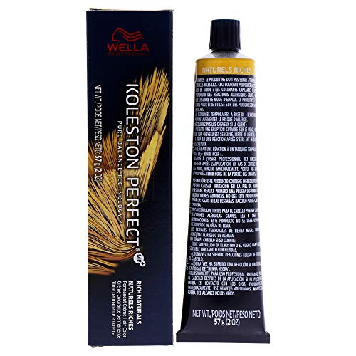 wella hair dyes Wella Koleston Perfect Permanent Creme Hair Color, 9/8 Very Light Blonde Pearl, 2 Ounce