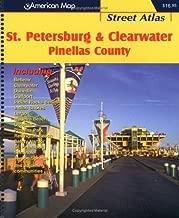 St. Petersburg & Clearwater Pinellas County Street Atlas (American Map)