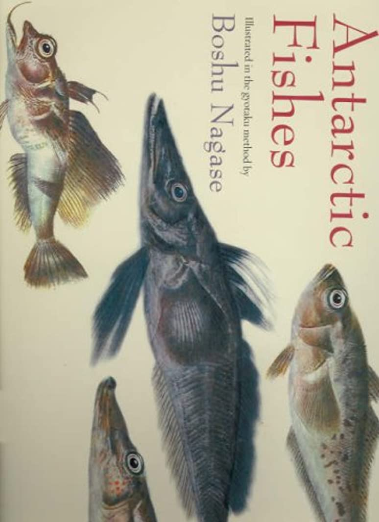 暗唱する嫌悪甥Antarctic Fish: Illustrated in the Gyotaku Method by Boshu Nagase