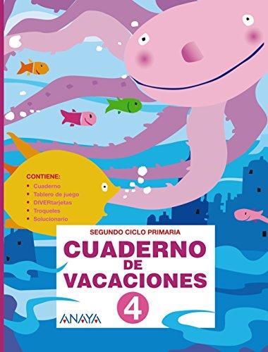 Cuaderno de vacaciones 4 - 9788466788281 (Cuadernos vacaciones)