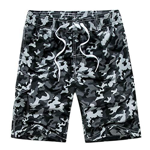 WWLZ Camouflage Beach Shorts Mannen Quick Dry s Surf Zwemshorts Zwemkleding Sport Badplank