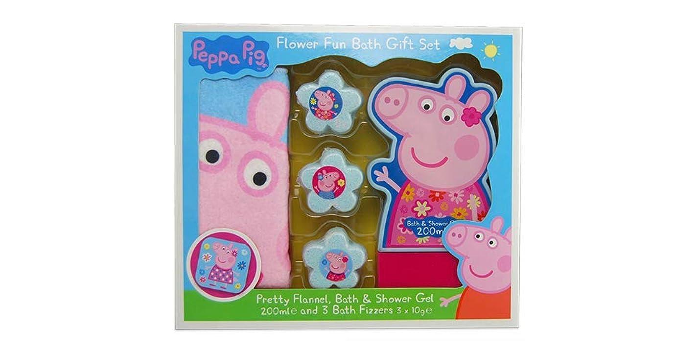 子供時代虫羊のためのペッパ豚楽しい花風呂フィザーギフトセット - 安い、ディスカウント価格ココモ株式会社