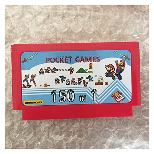 fleeting time GaoHR 150 en 1 Lista Completa Juego de Bolsillo 60 Pin Tarjeta de Juego para Jugador de Juegos de 8 bits HR