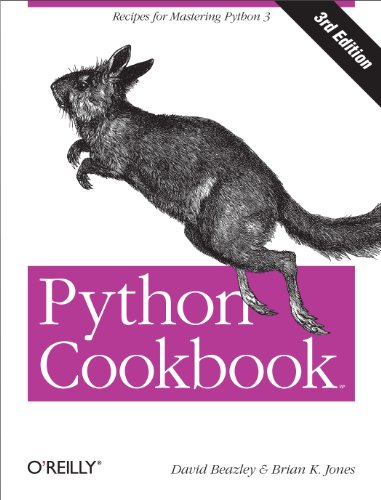 Python Cookbook: Recipes for Mastering Python 3 (Best Way To Use Twitter)