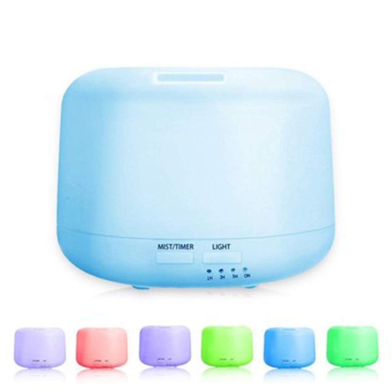 タイル思想傷つける300ml拡散器の涼しい霧の加湿器の4つのタイマーおよび7つのLED色の変更ライトが付いている水なしの自動遮断 (Color : Colorful)