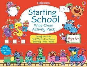 Starting School Wipe-Clean Activity Pack