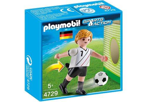 Playmobil Fútbol - Fútbol: Jugador Alemania (4729)