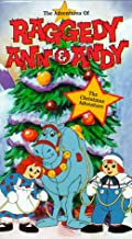 Raggedy Ann & Andy - Christmas Adventure VHS