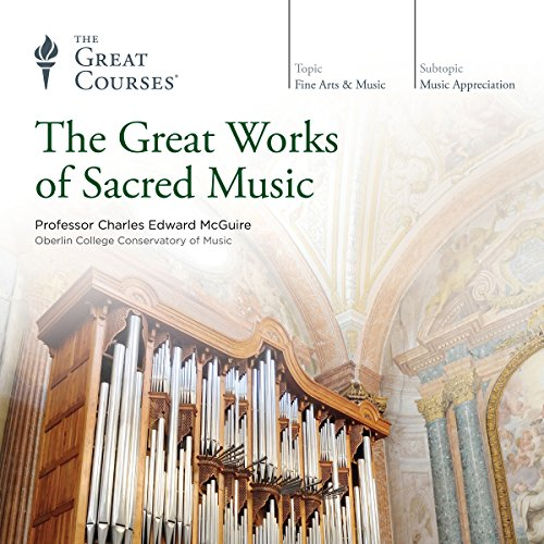 The Great Works of Sacred Music audiobook cover art