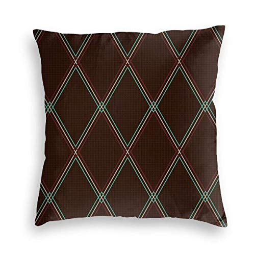 YPPDPP Vox-Style Vintage Amplifier Grill Cloth Velvet kissenhülle Pillow Cases Kissenbezug Throw Pillow Cover