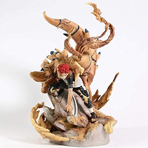 Naruto Shippuden Sabaku No Gaara se Convierte en Estatua de Shuukaku Estatuilla de Juguete Coleccionable